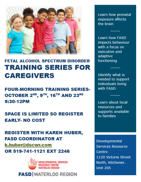 October Fasd Caregiver Training