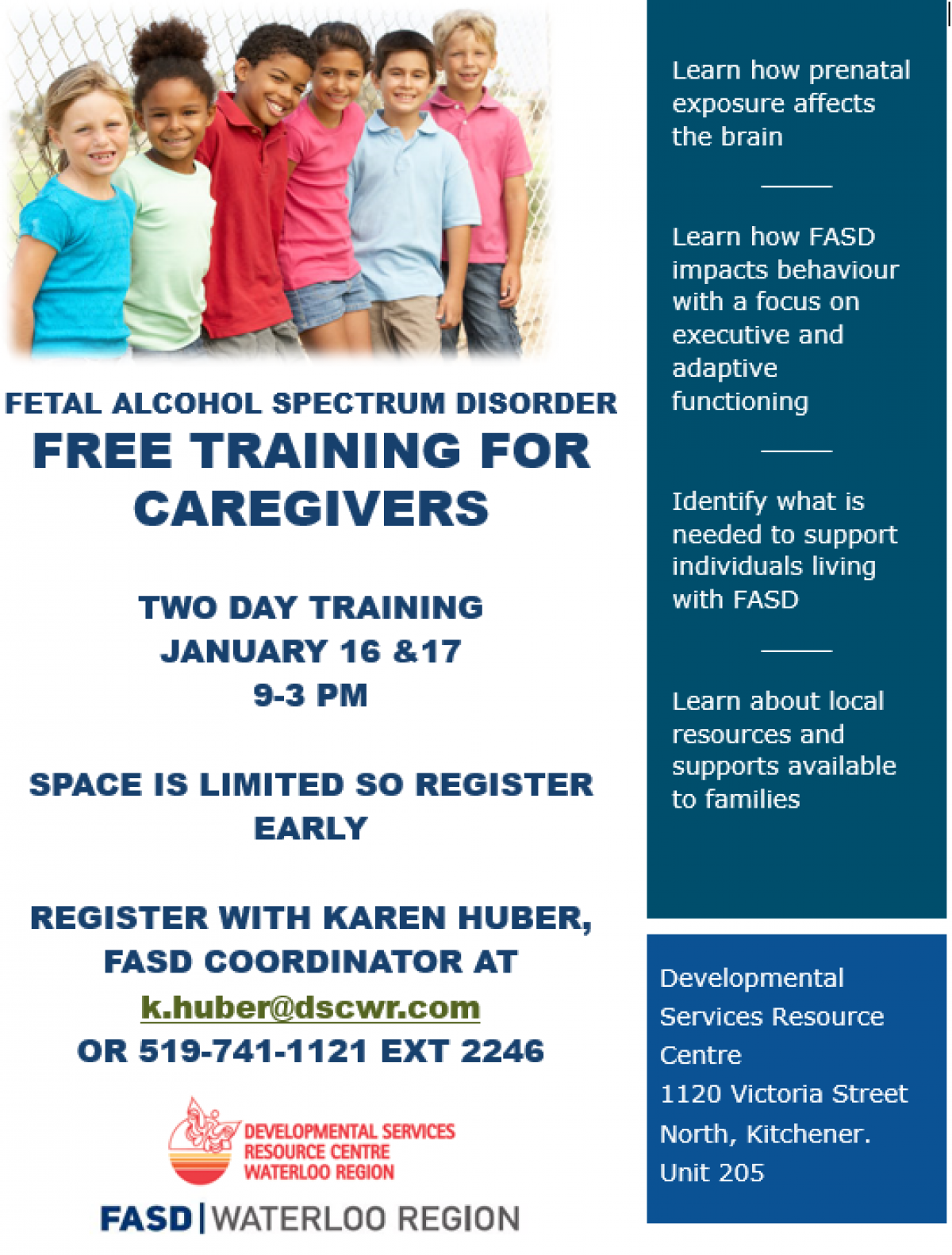 January Fasd Caregiver Training